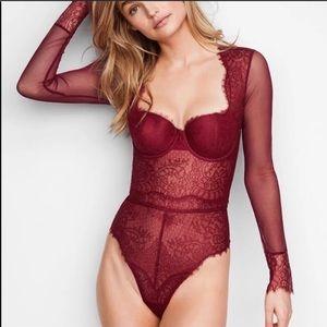 Victoria's Secret Lace Bodysuit Teddy